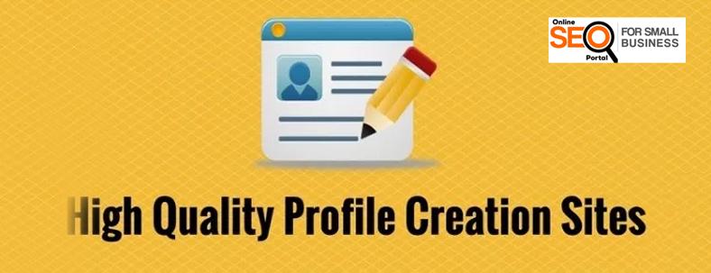 top profile creation site list