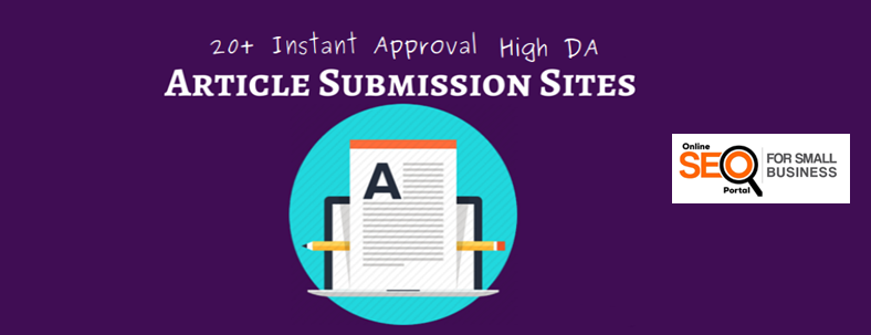 Top article submission sites 2018